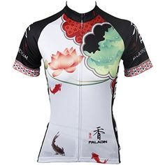 Paladin Womens Cycling Jerseys Flower Series Plum,Lily,Lilac,Lotus,Magnolia Pattern Beautiful Lady's Bike Shirt Breathable Summer Anti-sweat Cycling Clothing Paladin http://www.amazon.com/dp/B00XXP97LW/ref=cm_sw_r_pi_dp_Pngaxb19YVBKM