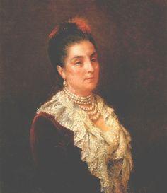 Countess Shuvalovа (Countess Vorontsova-Dashkova) Elizaveta Andreevna/ графиня Шувалова  (графиня Воронцова-Дашкова)  Елизавета  Андреевна  (1845 † 1924)