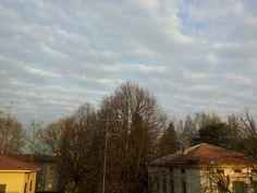 Nuvole a righe