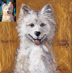 Custom Pet Portrait From Photo Personalized Dog Portrait