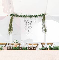Wedding Backdrop Sign Banner Decor, Personalized Names Hanging Sign Printed on Artist Canvas Welcome Sign for Wedding Best Day Ever (LBN700) by ZCreateDesign on Etsy https://www.etsy.com/listing/546572089/wedding-backdrop-sign-banner-decor