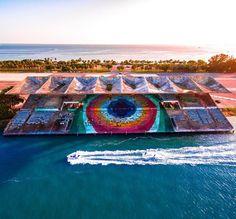 Miami Marine Stadium by @offshoretom #miami #florida #miamibeach #sobe #southbeach #brickell #Miami