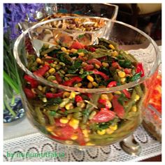 BÖRÜLCE SALATASI Salad Sauce, Iftar, Food And Drink, Mexican, Cooking, Ethnic Recipes, Knitting Patterns, Kochen, Salad Dressing