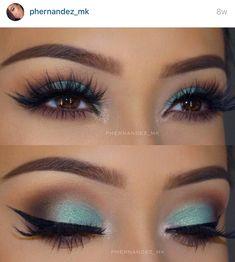 Phernandez_mk green eyeshadow