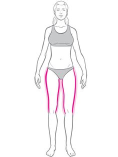 Identify the areas where you tend to gain weight and use Tracy's exercise prescription to slim down there and everywhere.