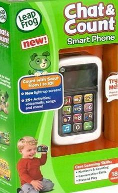 LeapFrog New Leapfrog Green Kids Childrens Educational Chat And Count Smart Phone Toy Uk by LeapFrog Push the music button on the LeapFrog Chat amp