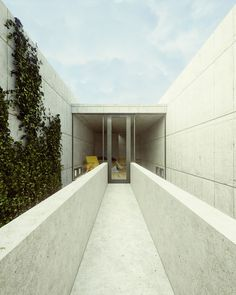 Tadao Ando Azuma House by Mateusz Klepadło