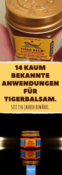 14 barely known applications for tiger balm. Fitness Workouts, Tiger Balm, Natural Cosmetics, Beauty Care, Good To Know, How To Lose Weight Fast, Health And Beauty, Natural Remedies, Healthy Life