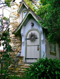 *A beautiful entrance to a storybook house...