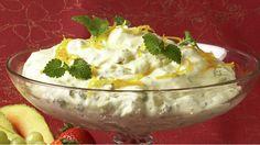 Sitronfromasj - Gjester - Oppskrifter - MatPrat Frisk, Pudding, Ethnic Recipes, Food, Meal, Eten, Puddings, Meals, Avocado Pudding