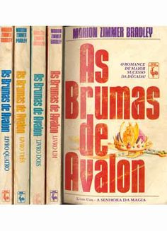 As Brumas de Avalon - Marion Zimmer Bradley
