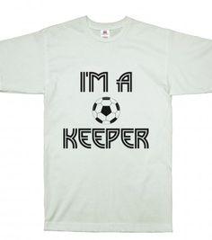 soccer goal keeper SS - Soccer Sports #Skreened #tees