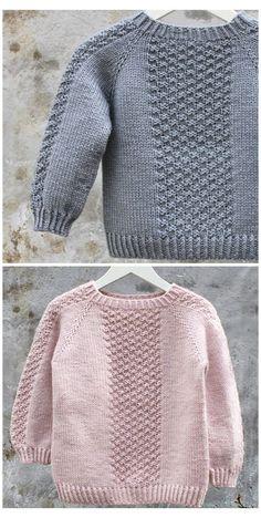 Baby Boy Knitting Patterns Free, Jumper Knitting Pattern, Baby Sweater Patterns, Knit Baby Sweaters, Knitting For Kids, Crochet Boys Sweater Pattern Free, Knitting Baby Girl, Baby Boy Sweater, Knitted Baby Cardigan