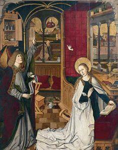 Maria Verkündigung, Maria am Gestade, Wien 1. Bezirk. 1460 bis 1470, Meister von Maria am Gestade