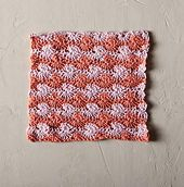 Ravelry: Peach Margot Crochet Dishcloth pattern by Hannah Maier