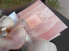 Lace Wedding Invitation The Vintage Lace on by inkandlove on Etsy