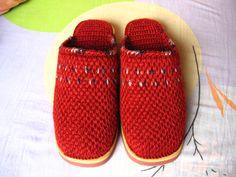 Zapatillas de Crochet con Suela de Goma - Patrones Crochet