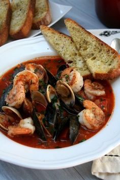 Spicy Shrimp Cioppino  Foodie for the Soul