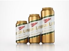 """Miller High Life """"The Champagne of Beers"""" Re-Design - COLT + RANE"""