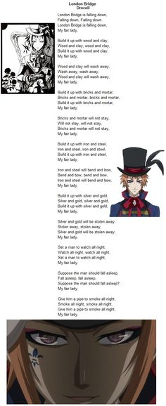 Drocell - London Bridge AM I THE ONLY PERSON who actually knew the full version of London bridge b4 black butler?