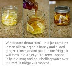 Sore throat tea