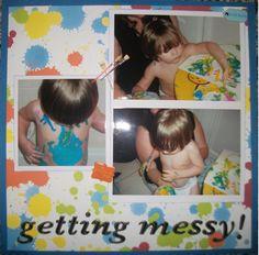 Getting+Messy - Scrapbook.com