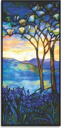 Tiffany stained glass~: