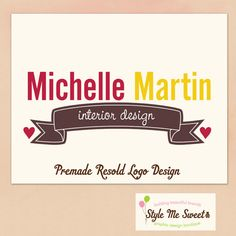 Premade Logo Watermark Photography Banner by stylemesweetdesign, $35.00
