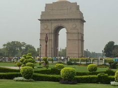 India Gate – Situated in Rajpath, New Delhi