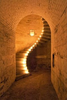 Stunning depictions of Staircases - Part 1 - The Granite Staircase at Fort Camden, Cork Harbour. Ireland