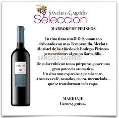 MARBORÉ de Bodegas Pirineos en Sánchez-Garrido #Antequera