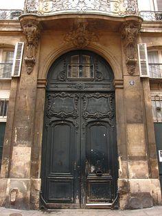Doors in Le Marais Paris