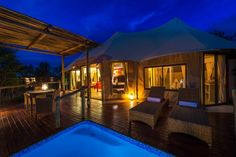 The Elephant Camp, Victoria Falls Picture: The Elephant Camp West, Main Pool - Check out Tripadvisor members' 975 candid photos and videos. Elephant Camp, Pool Picture, Private Viewing, Victoria Falls, Plunge Pool, Fall Pictures, Hotel Reviews, Trip Advisor, Maine