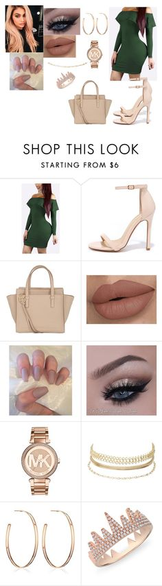 """Bad and Boujee"" by iluvbella2 on Polyvore featuring Liliana, Salvatore Ferragamo, MICHAEL Michael Kors, Charlotte Russe, Vita Fede and Anne Sisteron"