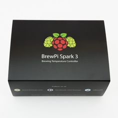 The BrewPi Spark is an open source brewing temperature controller for beer or wine fermentation. It syncs with a local web server so you can settings and view graphs in your browser. Make Beer At Home, Make Your Own Beer, Brew Your Own, How To Make Beer, Home Brewery, Beer Brewery, Home Brewing Beer, Brewery Design, Home Brewing Equipment