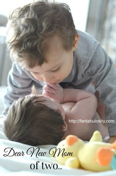 A letter to a New Mom of Two...  http://fantabulosity.com
