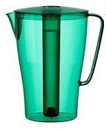 Solfint Pitcher with Lid, 68 Oz with Removable Freezer Insert, Green ~ Ikea - http://teacoffeestore.com/solfint-pitcher-with-lid-68-oz-with-removable-freezer-insert-green-ikea/