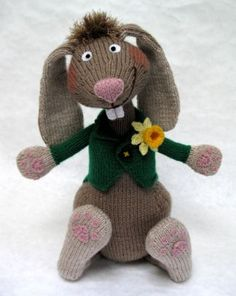 Mad March Hare - An Alan Dart Design  ...wish i knew how to knit...really good!!