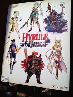 zelda hyrule warriors concept art