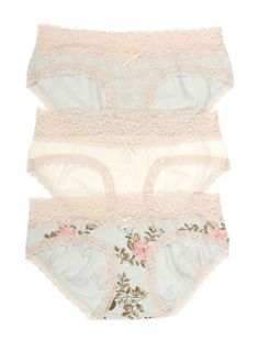 Jessica Simpson Heathered Maternity Hipster Panties (3 Pack)