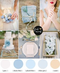 Light blue wedding colors | http://fabmood.com/light-blue-wedding-colors/
