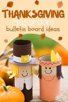 Start decorating your classroom for the Thanksgiving season with these fun and festive Bulletin Board ideas! Check it out!