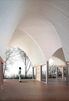 Interior Design Addict: Ryan W Kennihan Architects, Leaning Vault House Arcade Architecture, Chinese Architecture, Space Architecture, Architecture Drawings, Contemporary Architecture, Architecture Details, Enterprise Architecture, Architecture Interiors, Amazing Architecture