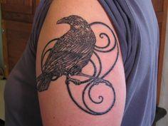 raven tattoos | Raven Tattoo | Flickr - Photo Sharing!