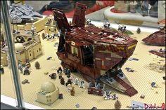 https://flic.kr/p/souVtc | Star Wars Tatooine Diorama | by BrickMaster LUG (in ToyFocus:LEGO Store)