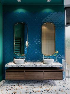Where can I find terrazzo tiles and sinks in the UK? A guide and photos to beautiful . Where can I find terrazzo tiles and sinks in the UK? A guide and photos to beautiful terrazzo bathrooms. Bathroom Spa, Small Bathroom, Bathroom Cabinets, Bathroom Ideas, Bathroom Colors, Bathroom Designs, Bathroom Hacks, Master Bathroom, Kitchen Walls