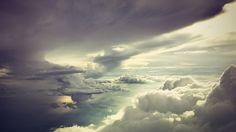 Beautiful calm clouds