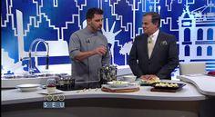 #gastronomiaialiana - Chef Stefano Bruzzone, do Stefano Hotel e Restaurante, no Todo Seu, Ronnie Von. Abril de 2015.
