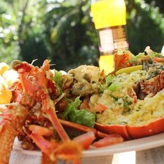 Feeling #hungry? How about some #lobster and festival!! Repost via @viewjamaica via @spacebeatbydhanyell