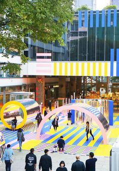 The DFA Design for Asia Awards commends a wide range of design that embodies Asian aesthetics and culture, with influences to the design trends in Asia and for Asia. Mall Design, Retail Design, Urban Furniture, Street Furniture, Public Space Design, Public Spaces, Playground Design, Interactive Art, Exhibition Space